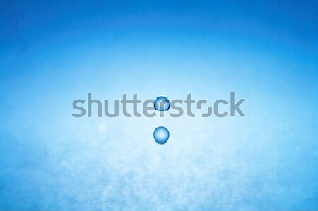 Stock photo: water drop (image 2 of 51, I have all phases of falling drop)