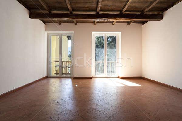 interior of classic rustic apartment empty room stock photo alexandre zveiger 5173039. Black Bedroom Furniture Sets. Home Design Ideas