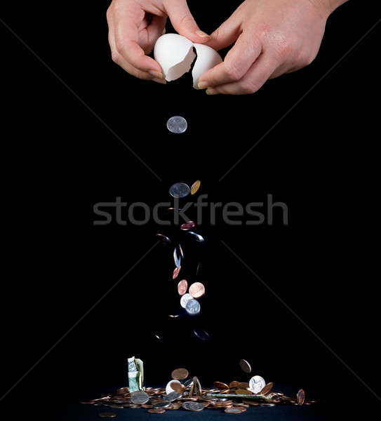 Stock photo: Cashing out