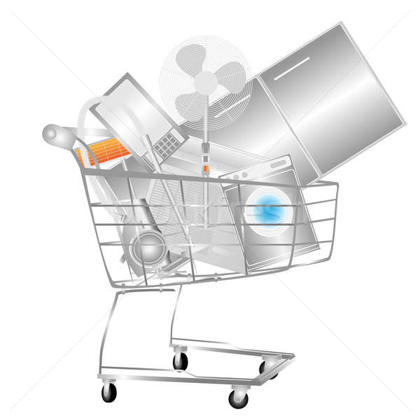 Household appliances on stock photo electrical household appliances on