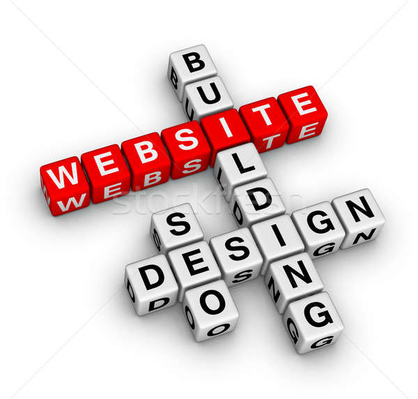 Stock photo: website building