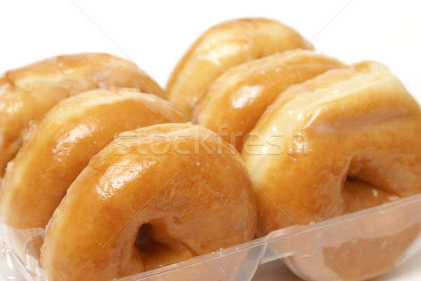 Stock photo: Glazed Donuts
