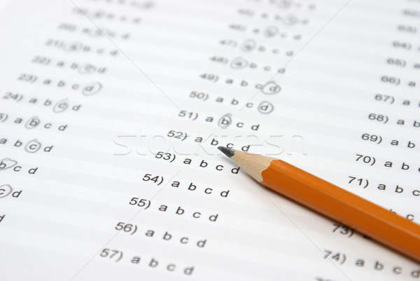 Stock photo: Multiple Choice Answers