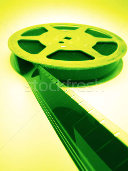 Stock photo: film spools