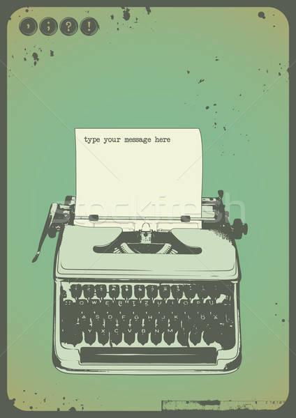 - 256506_stock-photo-vintage-typewriter