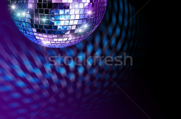 Stock photo: Disco mirror ball