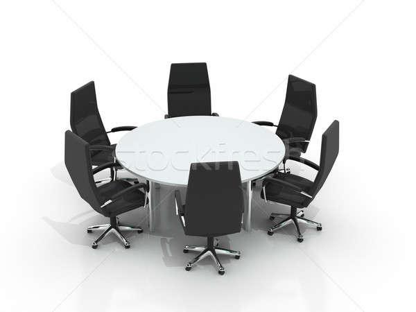 Round Conference Table Round Conference Table And