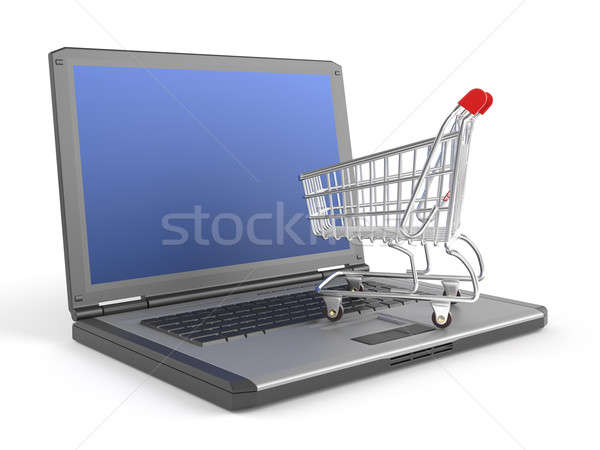 Stock photo: e-shopping concept