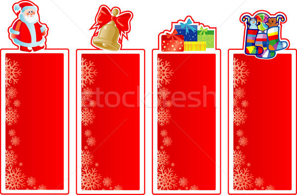 Stock photo: Set of Christmas banners