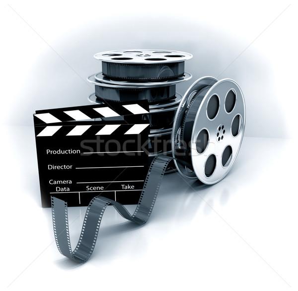 Movie gallery stock