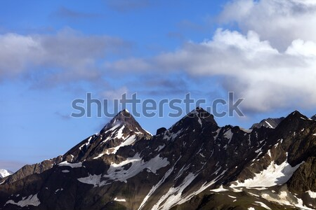 Stock photo: Caucasus Mountains. Georgia, Svaneti
