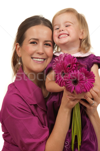 Stock photo: Mothers Day or Birthday Gift