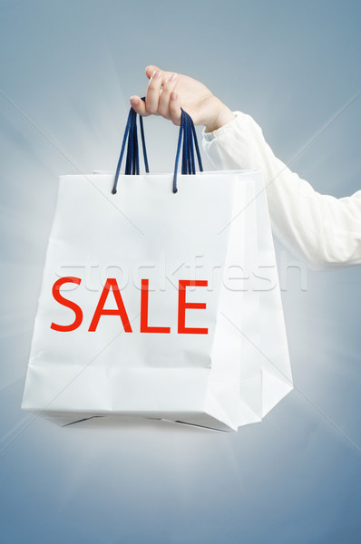 Stock photo: shopping bag