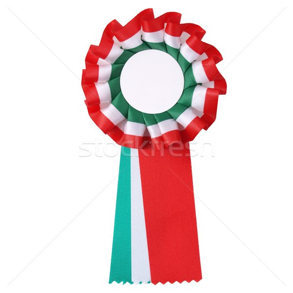Stock photo: Italian cockade