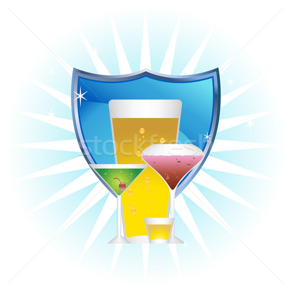 Stock photo: Drinks Icon