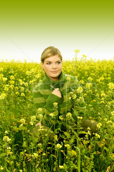 Stock photo: Business Woman Outdoor