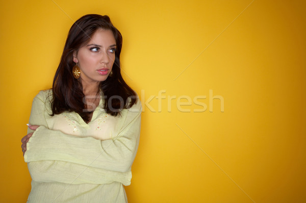 Stock photo: Woman portrait