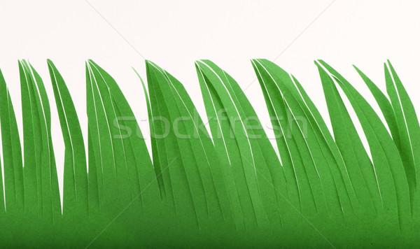 Как сделать подделку травы