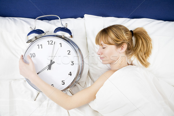 Stock photo: morning routine03