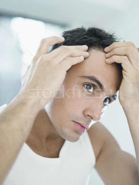 Stock photo: male beauty