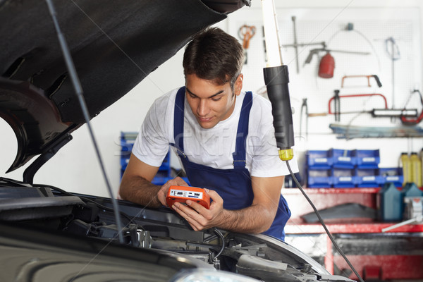 Stock photo: mechanic