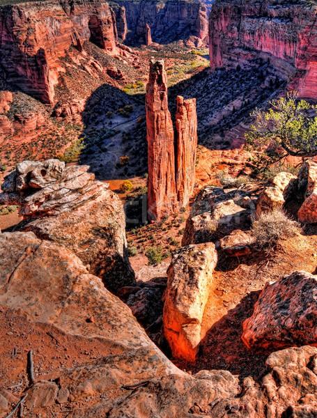Canyon de Chelly entrance the Navajo nation