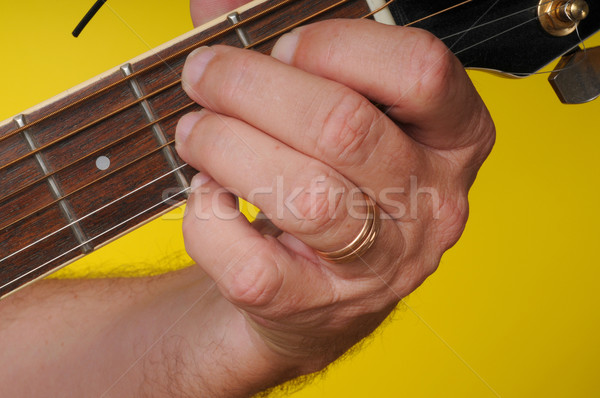 B7 Guitar Chord stock photo © Paul Moore (diomedes66) (#1009966 ...