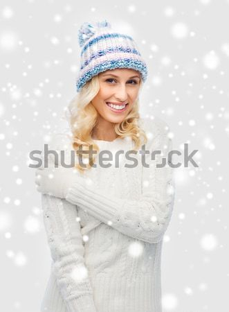 Stock photo: santa helper with big disco ball