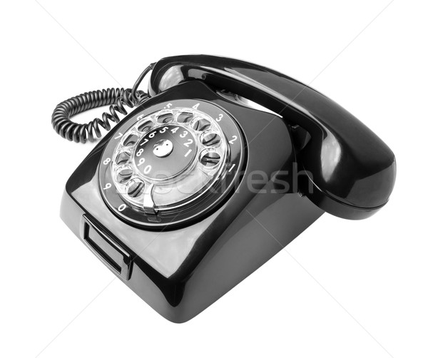 Stock photo: Old phone