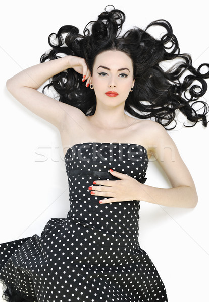 Stock photo: pinup fashion