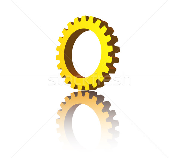 Stock photo: gear