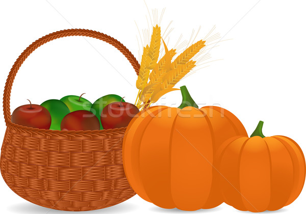 Stock photo: Autumn harvest