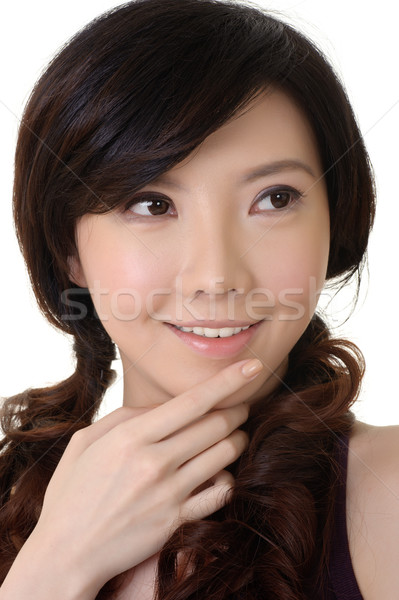 Stock photo: Elegant Asian beauty