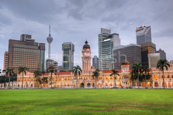 Stock photo: Malaysia city skyline