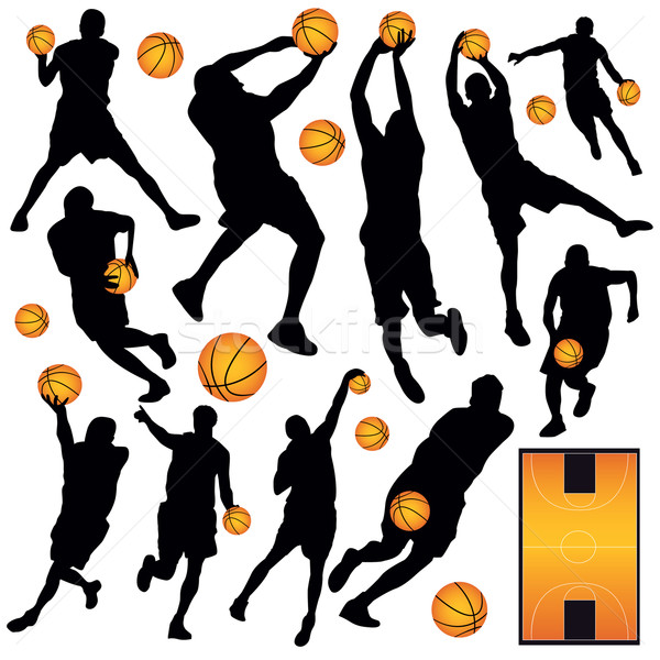 Stock photo: Basketball Collection