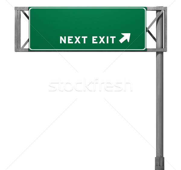 Highway Exit Sign Template Blank Freeway Exit Sig...