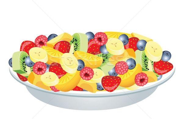 clip art fresh raspberries