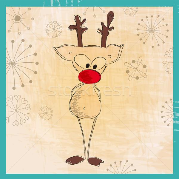 reindeer illustrations.