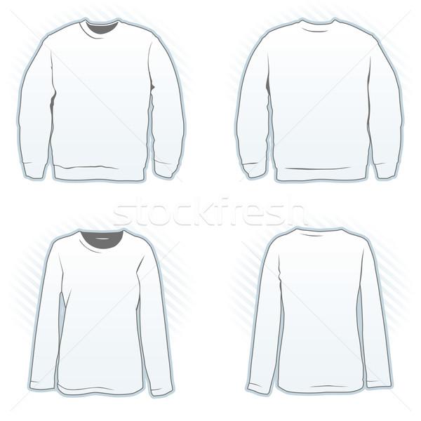 Sweatshirt design template vector illustration © Grafistart ...