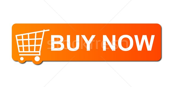 Stock photo: Buy Now Orange