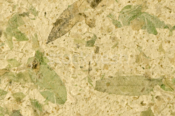 Stock photo: Handmade paper