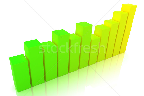 Stock photo: Business Graph