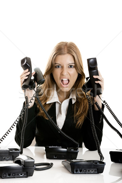 Stock photo: Helpdesk line