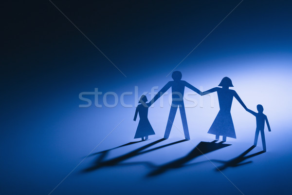 Stock photo: Parents and children