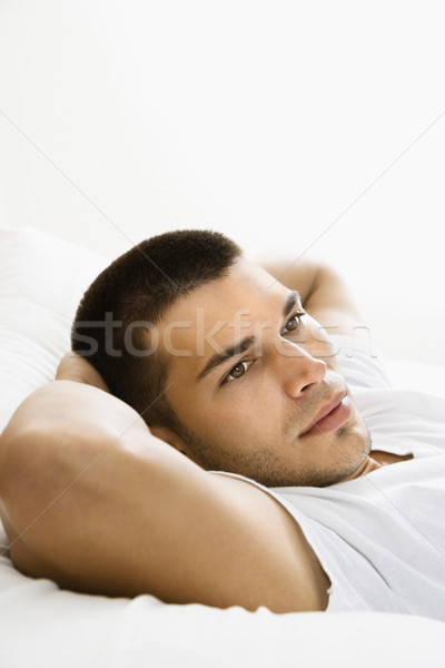 Stock photo: Man relaxing.