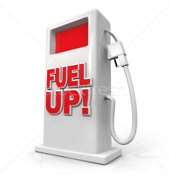 Stock photo: Fuel Up - Gasoline Pump for Refueling