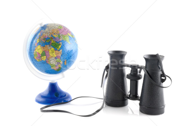 Stock photo: Travelling around the world