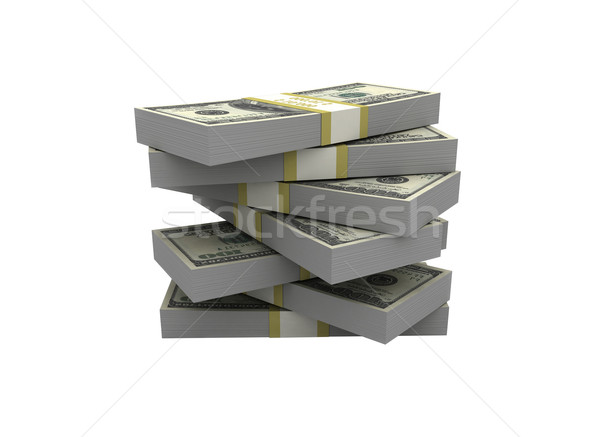 Stock photo: Money stack