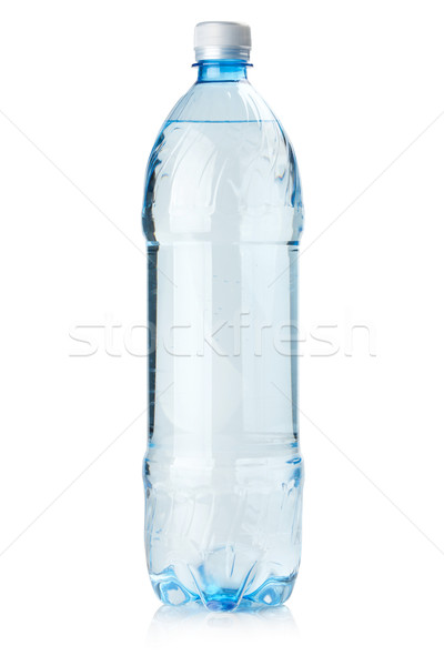 Stock photo: Bottle of soda water