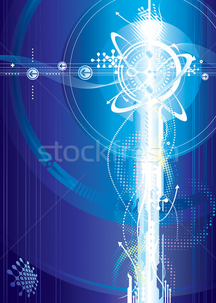 Stock photo: Futuristic Voltage
